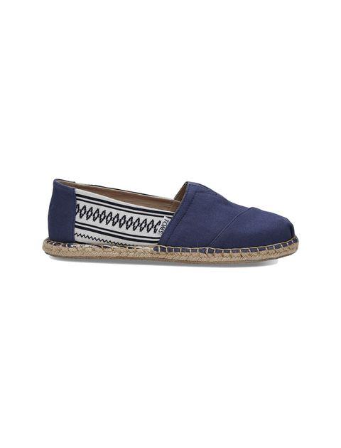 کفش راحتی نخی مردانه Classics - آبي - 1