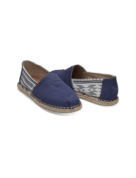 کفش راحتی نخی مردانه Classics - آبي - 2