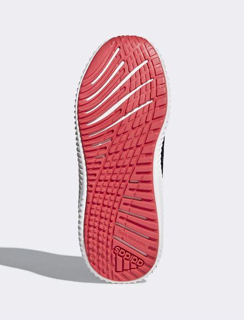 کفش پیاده روی بندی بچگانه Fortarun X - آدیداس - خاکستري - 3
