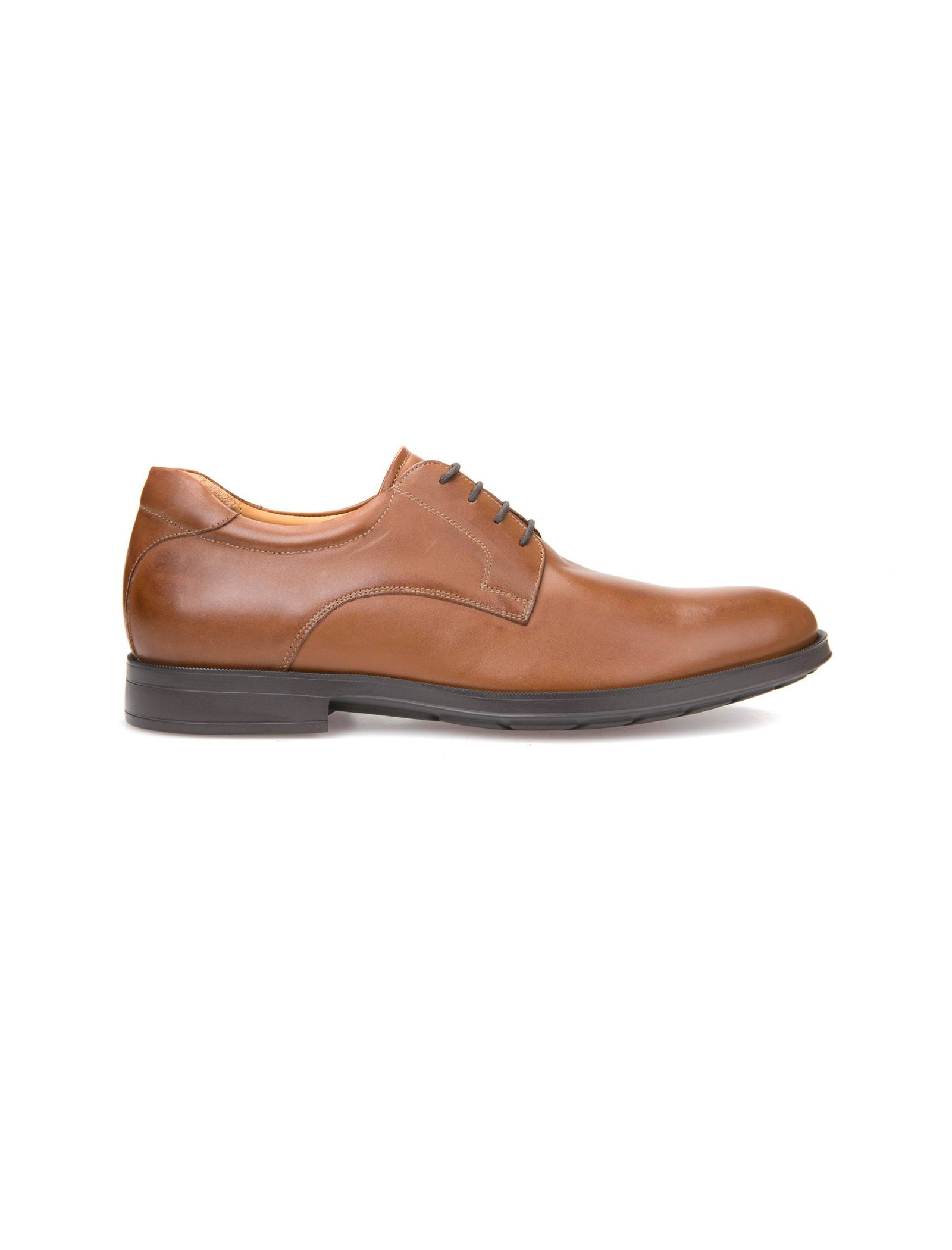 کفش اداری چرم مردانه Hilstone - جی اوکس - قهوه اي  - 1