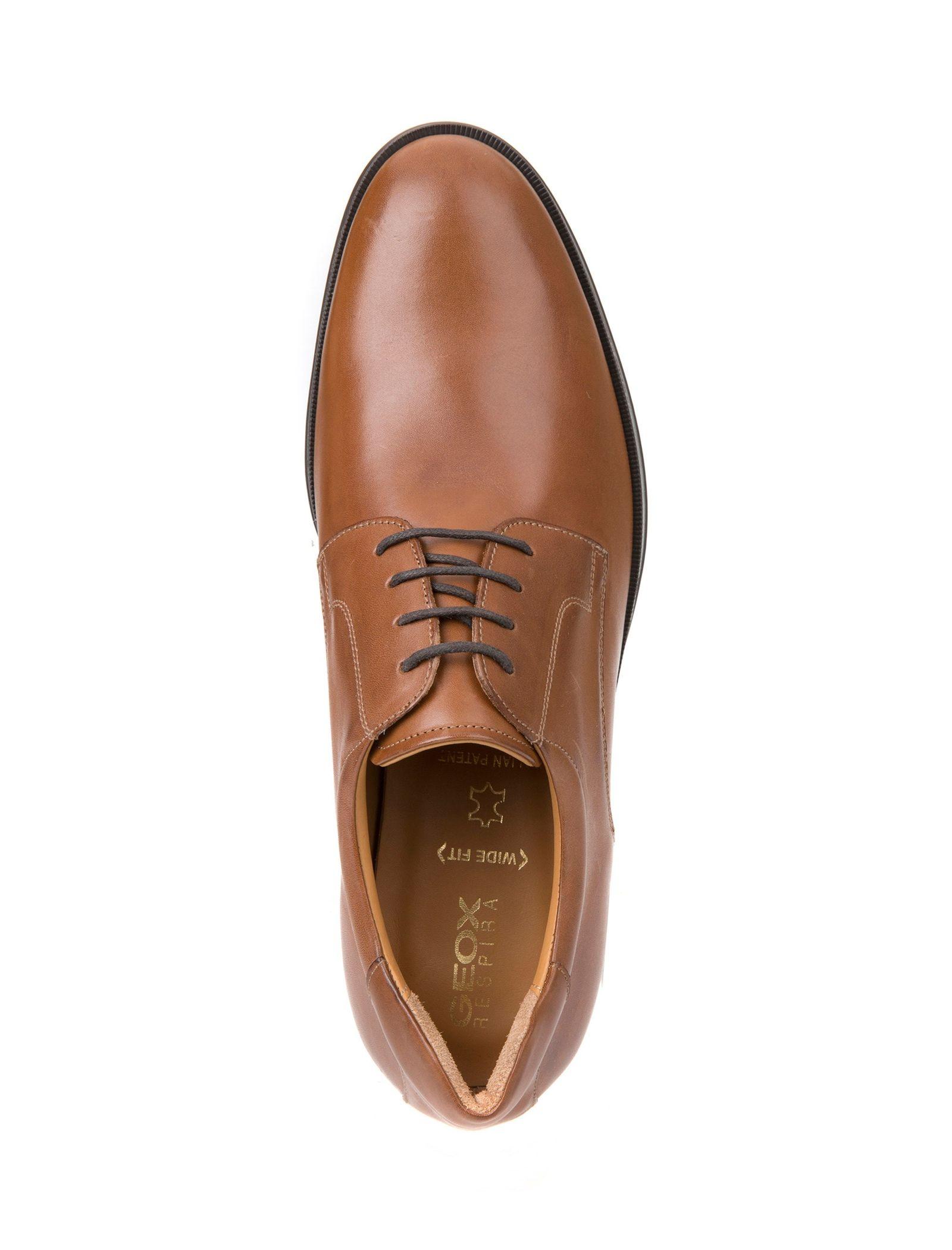 کفش اداری چرم مردانه Hilstone - جی اوکس - قهوه اي  - 2