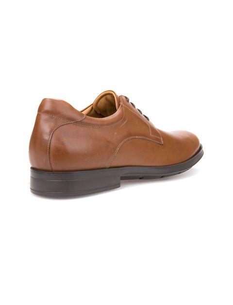 کفش اداری چرم مردانه Hilstone - جی اوکس - قهوه اي  - 4
