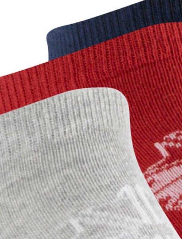 جوراب ساق متوسط بزرگسال بسته 3 عددی Classics Foundation Unisex No Show Sock - 3pair - ریباک