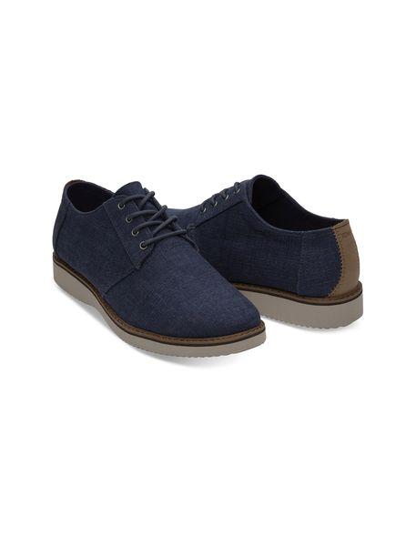 کفش اداری پارچه ای مردانه Preston Dress - سرمه اي  - 3