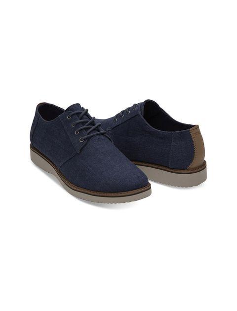 کفش اداری پارچه ای مردانه Preston Dress - تامز - سرمه اي  - 3
