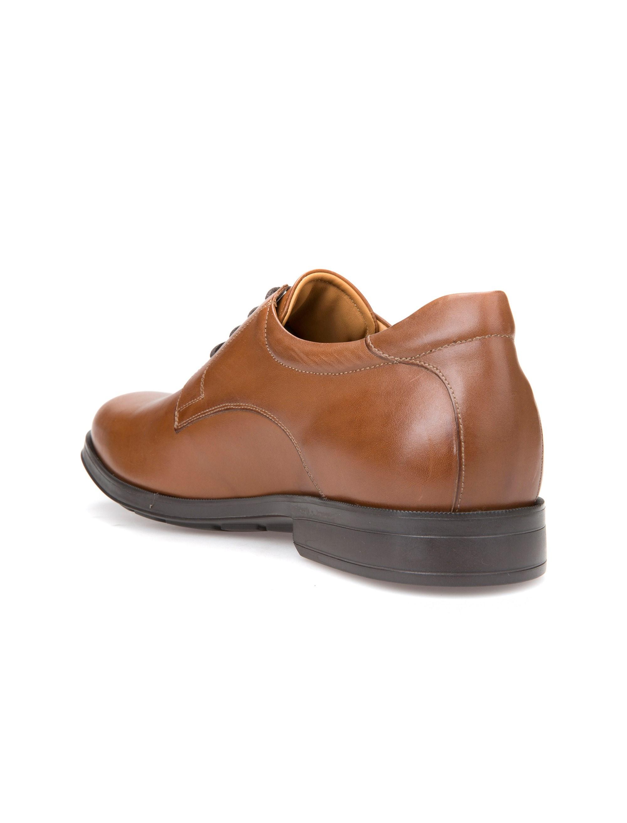 کفش اداری چرم مردانه Hilstone - جی اوکس - قهوه اي  - 5