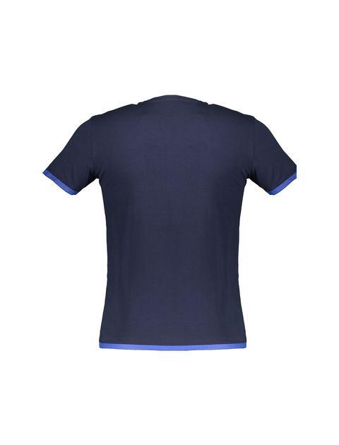 تی شرت نخی یقه گرد مردانه - یوپیم - سرمه اي - 2