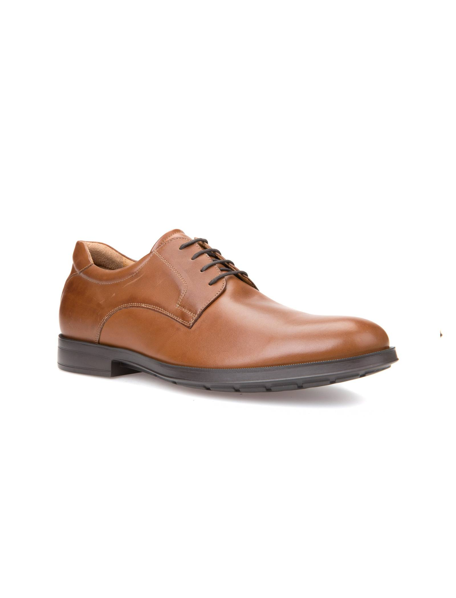 کفش اداری چرم مردانه Hilstone - جی اوکس - قهوه اي  - 6