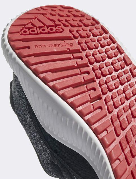 کفش پیاده روی بندی بچگانه Fortarun X - آدیداس - خاکستري - 8