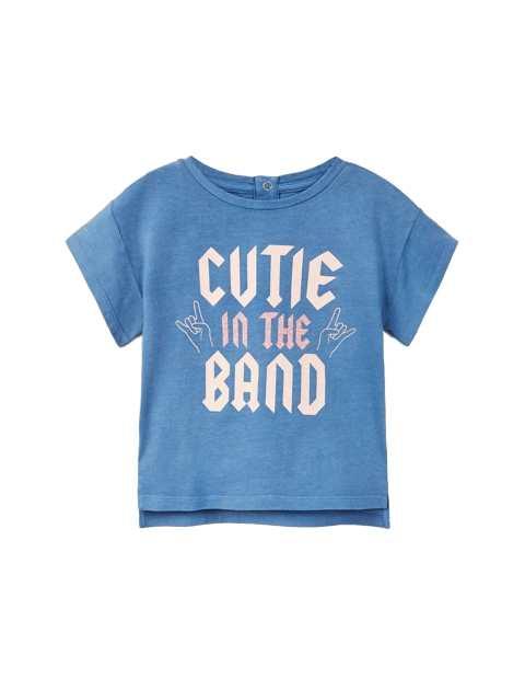 تی شرت نخی ساده نوزادی دخترانه
