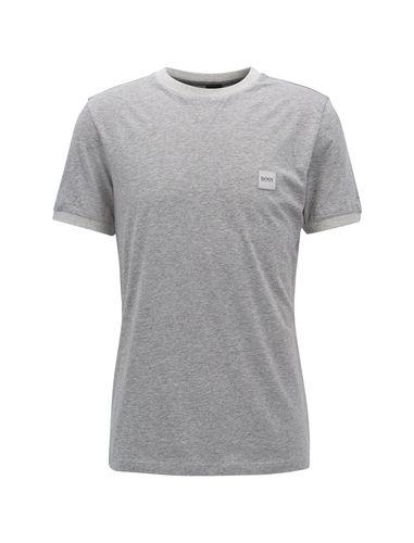 تی شرت نخی یقه گرد مردانه Topical