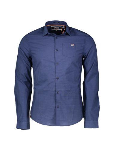 پیراهن نخی آستین بلند مردانه - سوپردرای