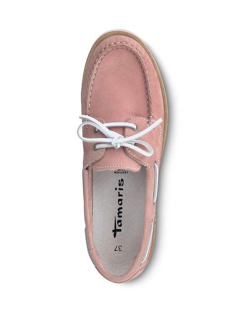 کفش تخت زنانه - تاماریس - صورتي - 2
