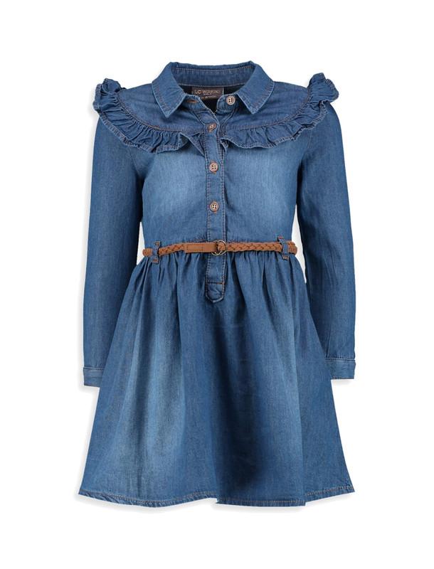 پیراهن جین کوتاه دخترانه - ال سی وایکیکی