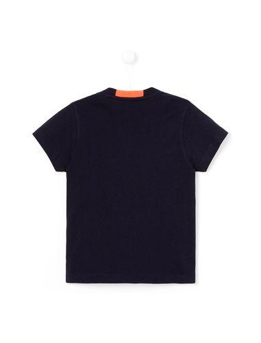 تی شرت نخی یقه گرد پسرانه Laurentino