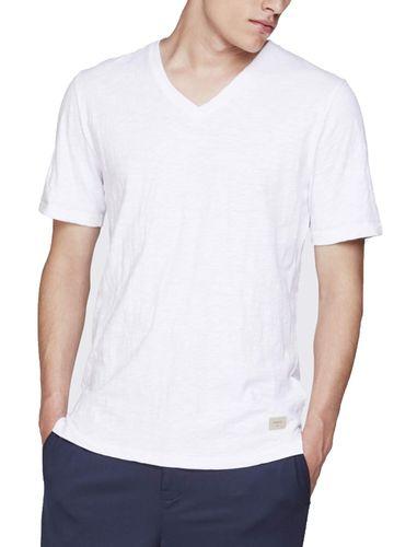 تی شرت نخی یقه هفت مردانه Earlham - مینیموم