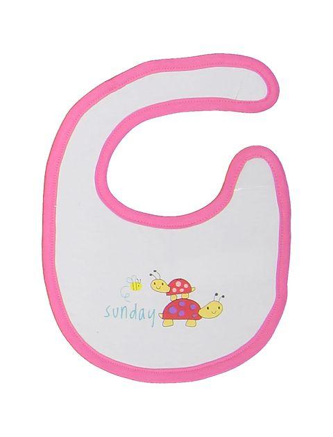 پیش بند نخی نوزادی بسته 7 عددی - ارکسترا - سفيد - 13