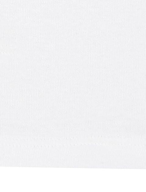 زیرپوش نخی آستین حلقه ای بسته 3 عددی - صورتي/سفيد - 5