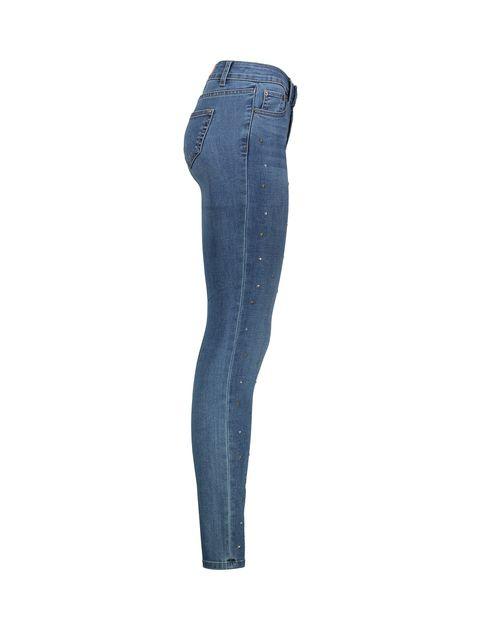 شلوار جین جذب زنانه - نف نف - آبي - 3