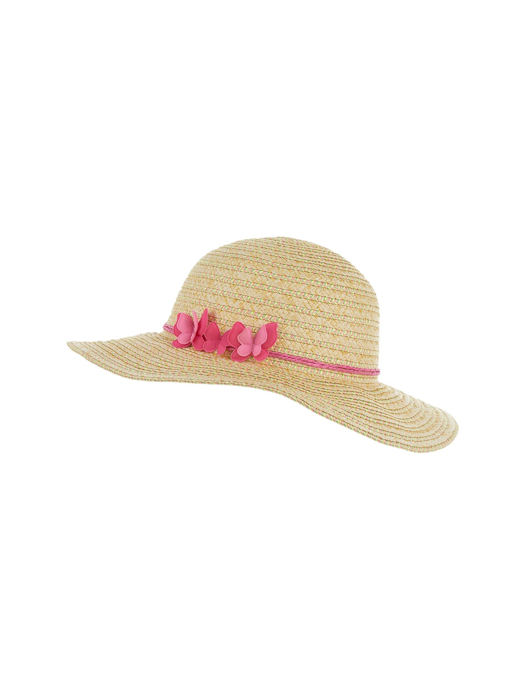 کلاه حصیری دخترانه PRETTY BUTTERFLY FLOPPY