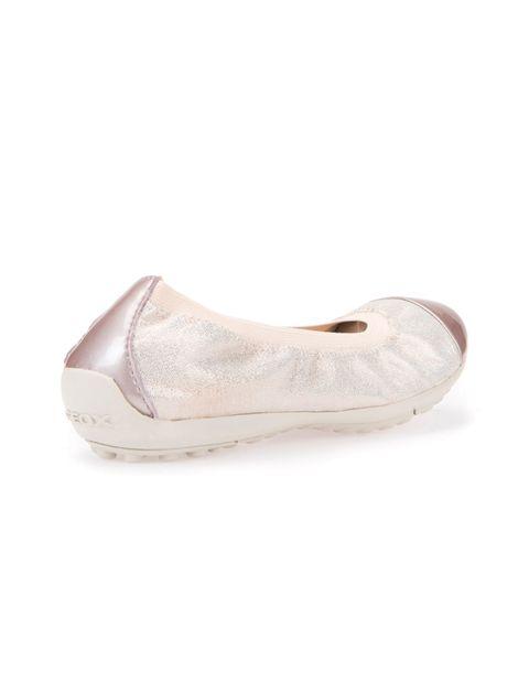 کفش تخت چرم دخترانه JR PIUMA - صورتي روسن - 6