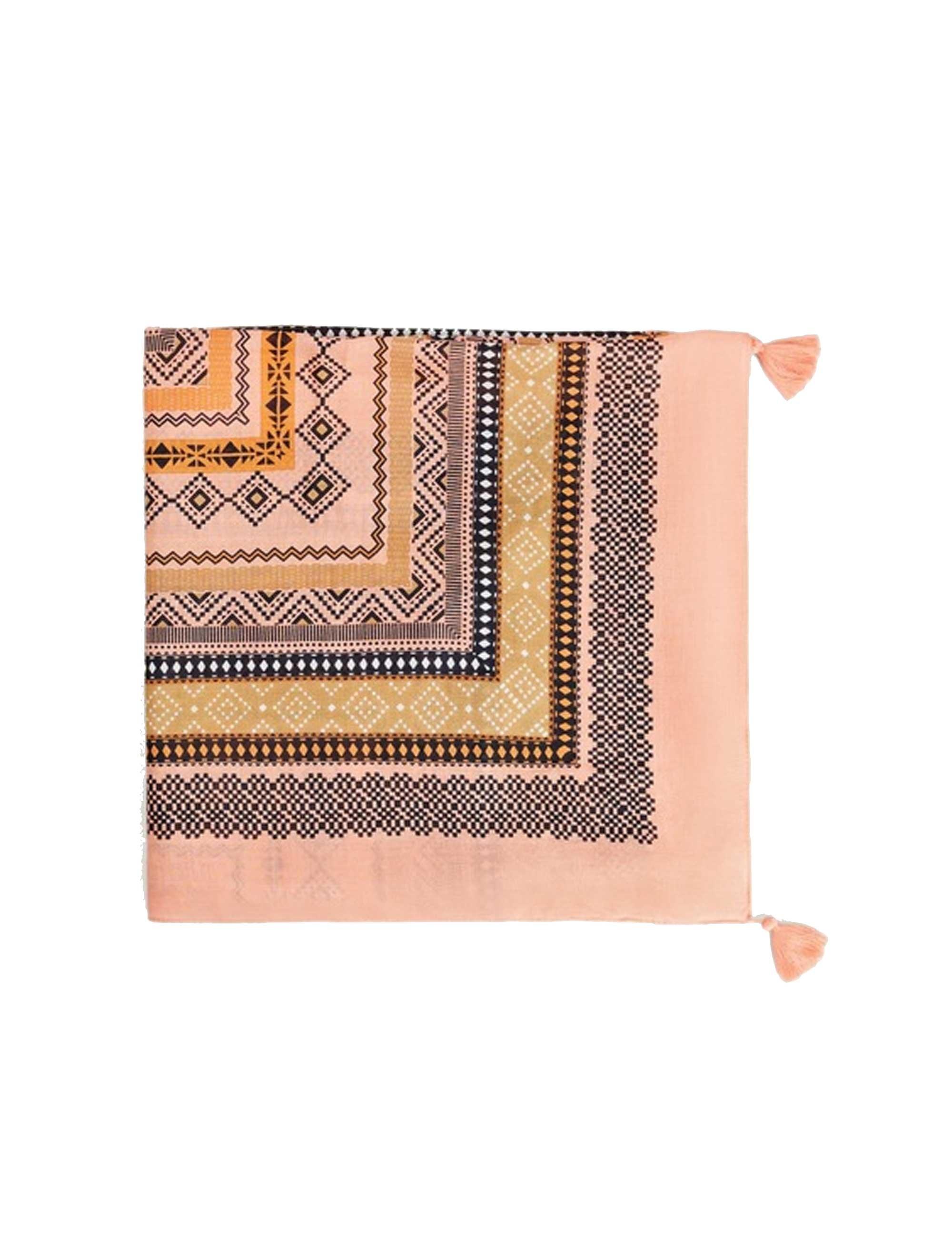 روسری طرح دار زنانه - ویولتا بای مانگو