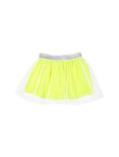 دامن کوتاه دخترانه - زرد - 1