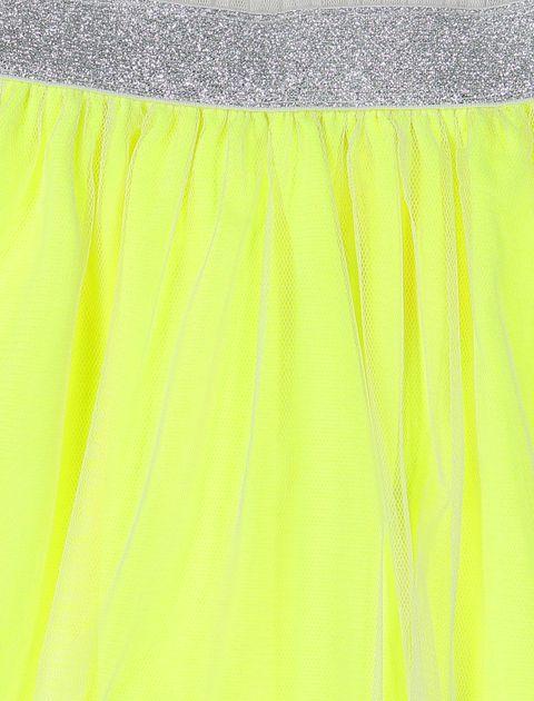 دامن کوتاه دخترانه - زرد - 3
