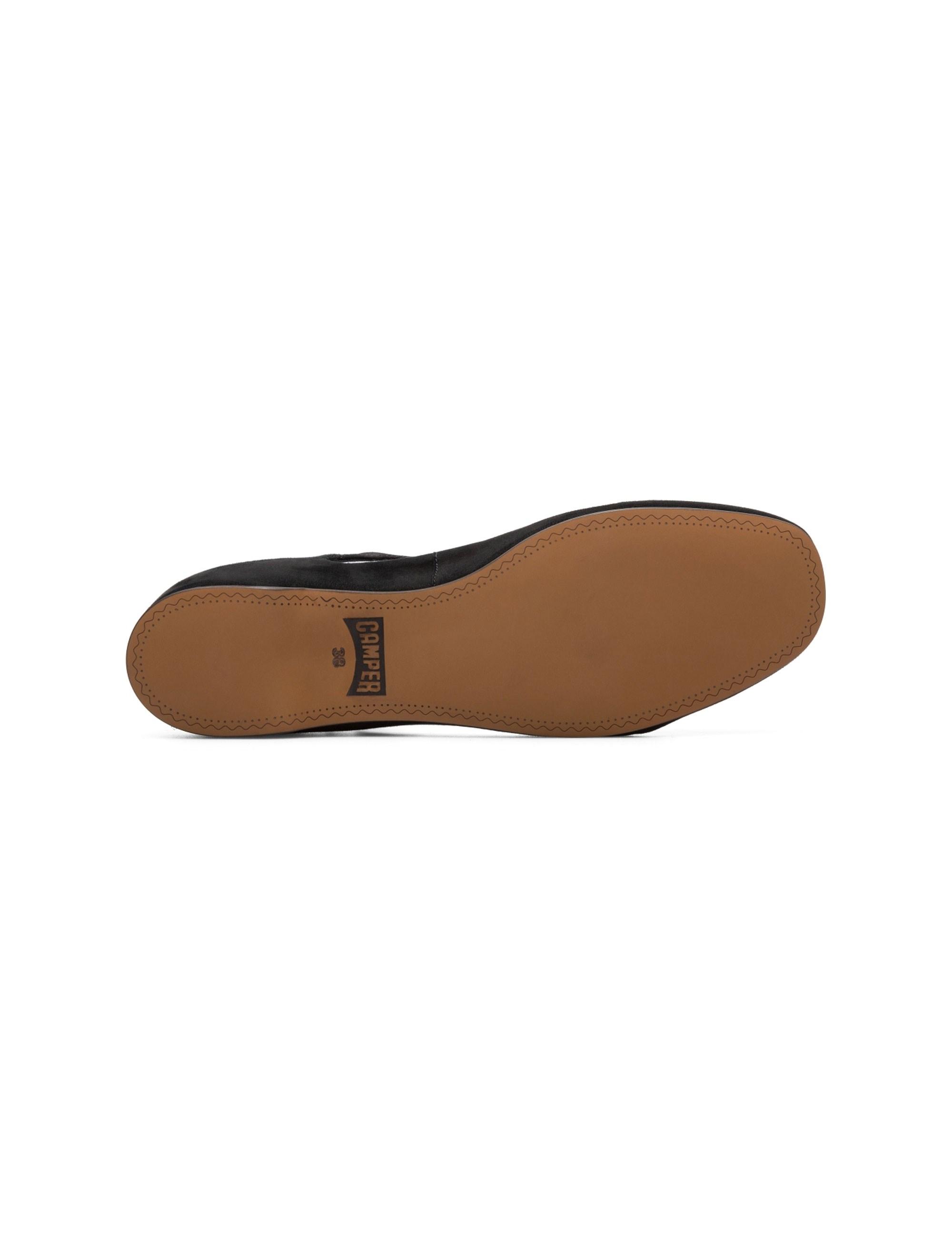 کفش تخت چرم زنانه Lucy - مشکي - 5