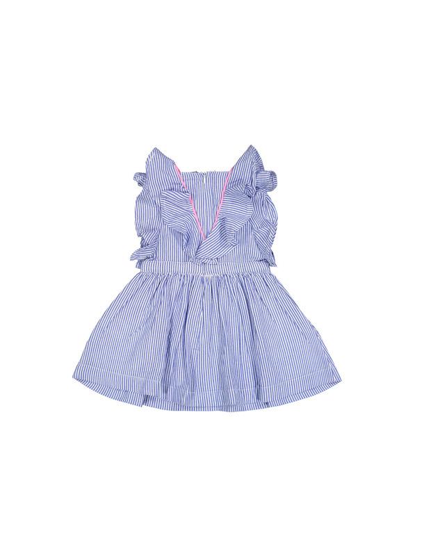 پیراهن نخی نوزادی دخترانه