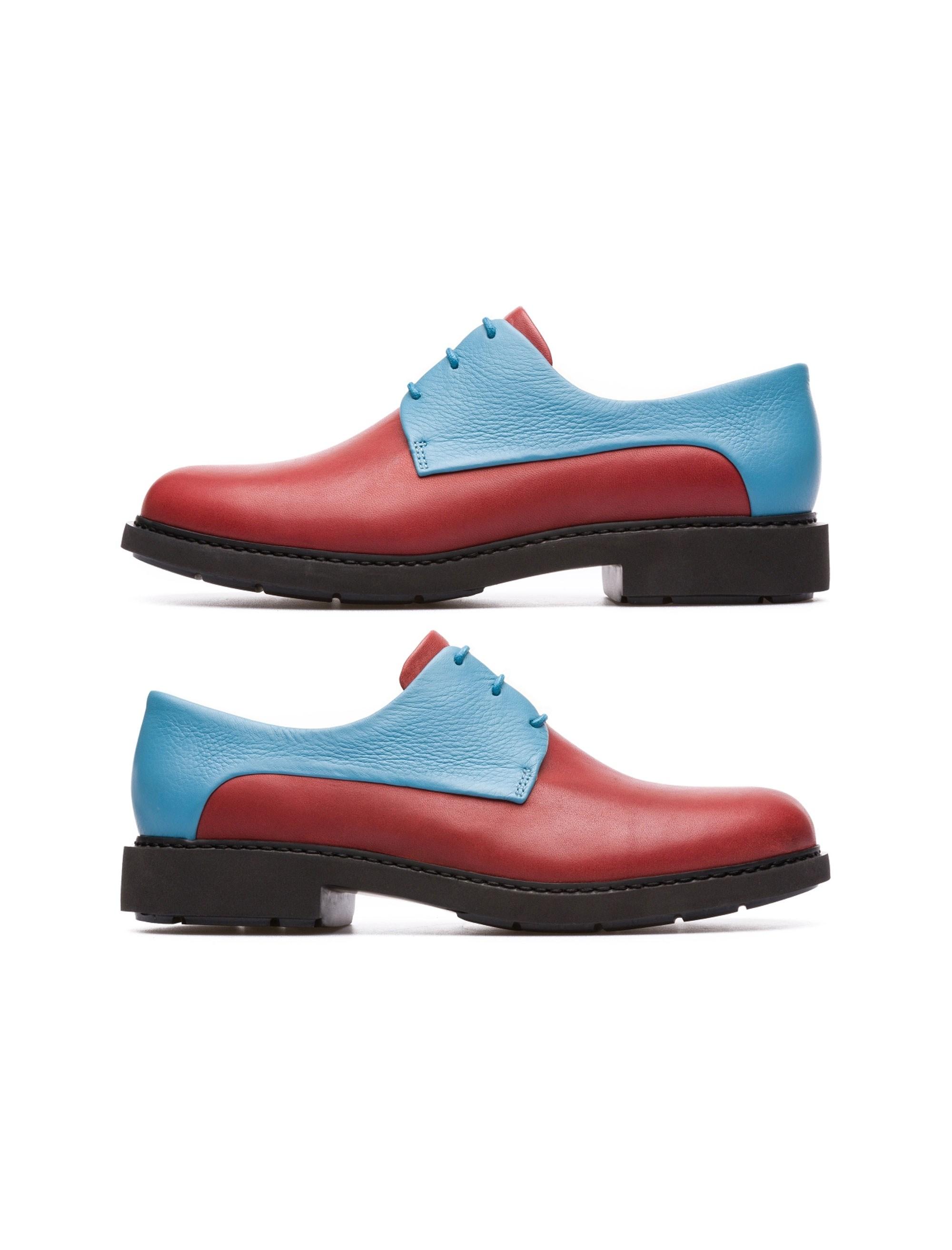 کفش تخت چرم زنانه Crucero - کمپر