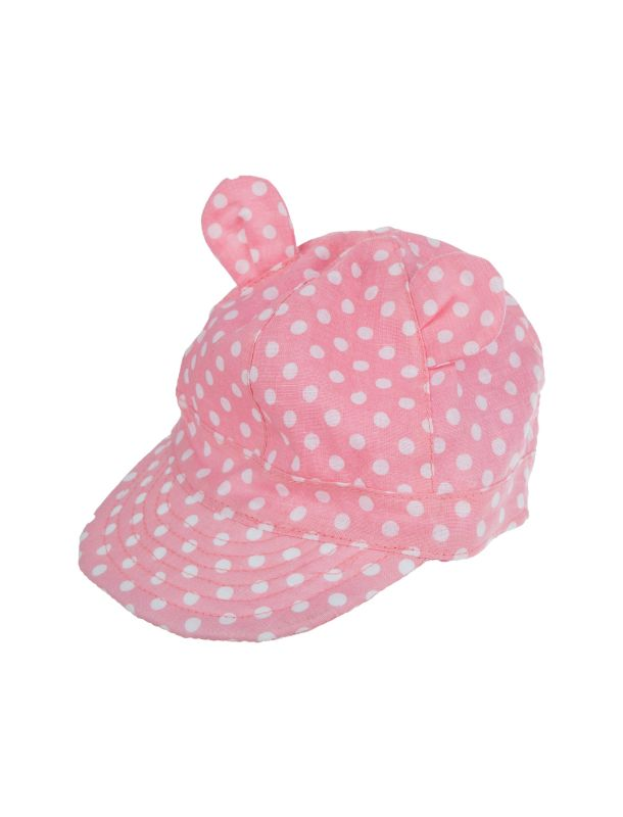کلاه نخی طرح دار نوزادی دخترانه