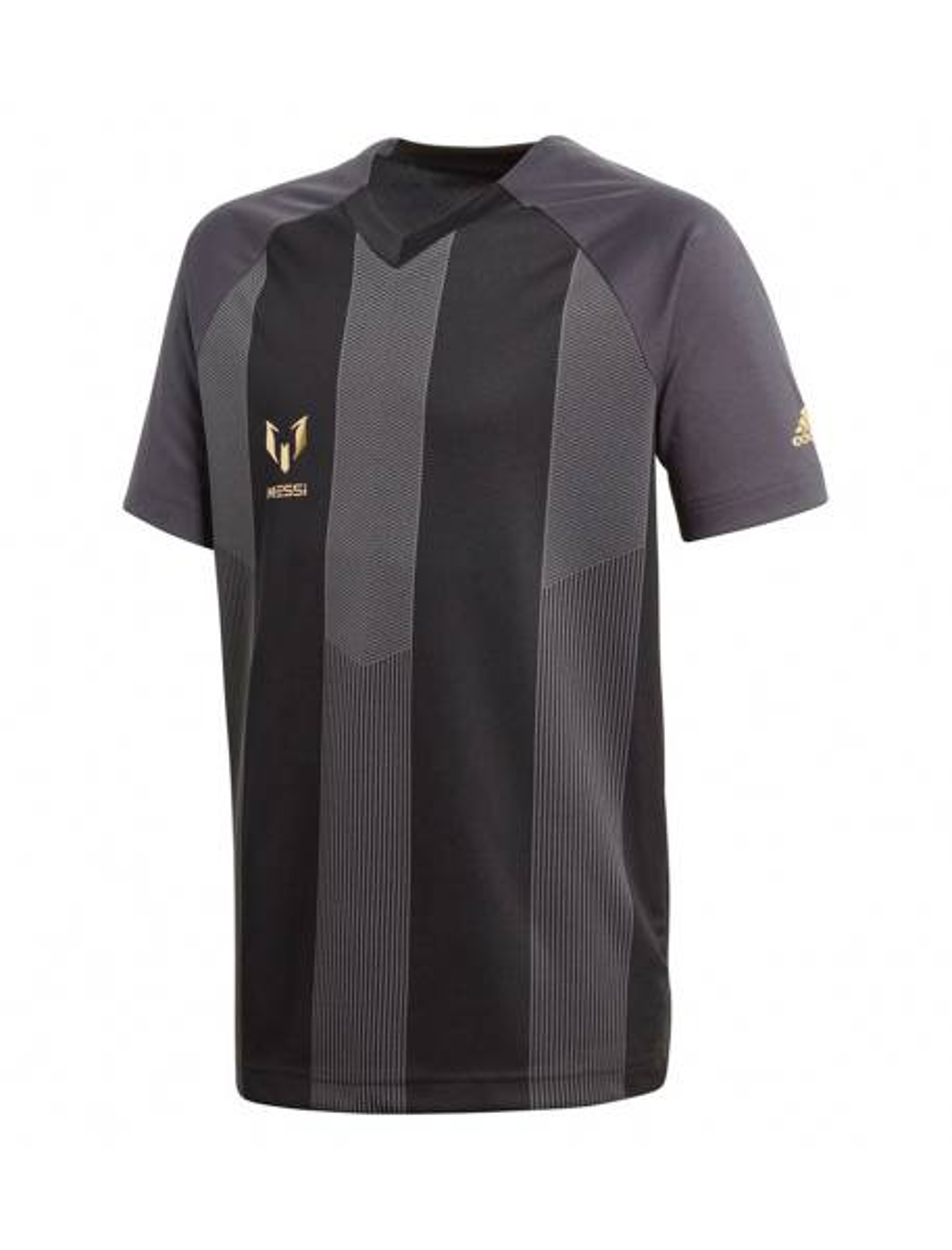 تی شرت ورزشی آستین کوتاه پسرانه Messi - طوسي - 1