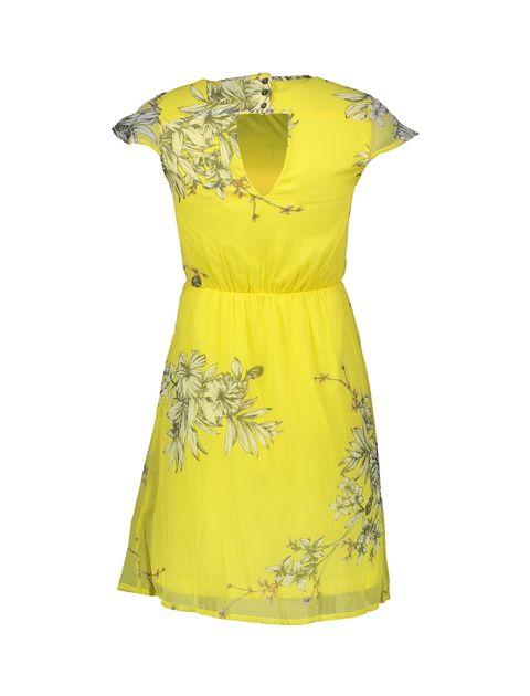 پیراهن کوتاه زنانه - ورو مدا - زرد - 2