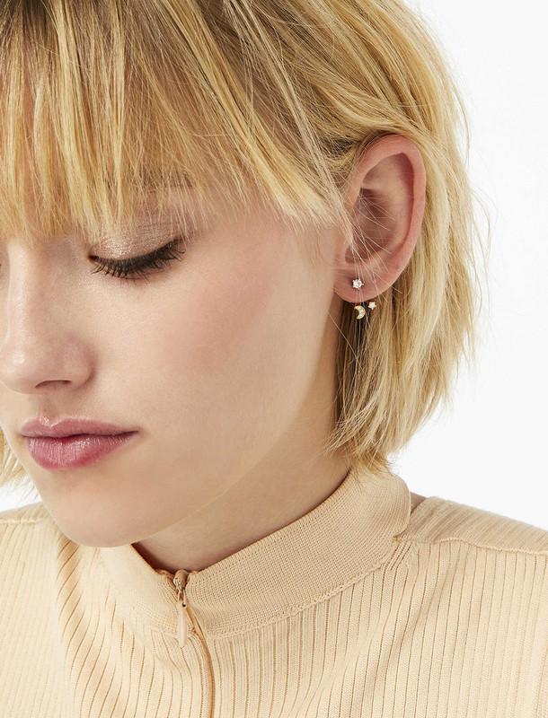 گوشواره میخی زنانه - اکسسوریز