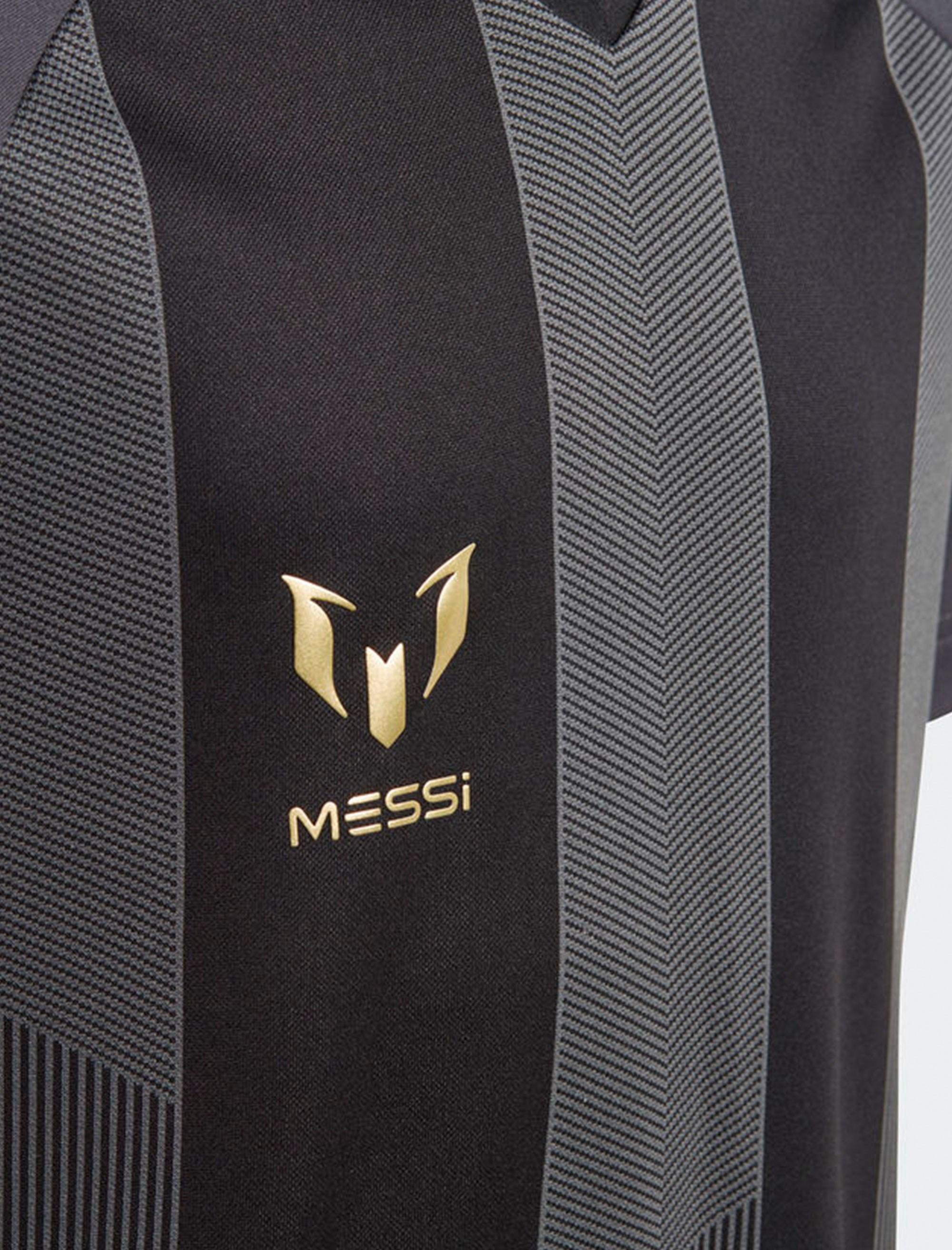 تی شرت ورزشی آستین کوتاه پسرانه Messi - طوسي - 5