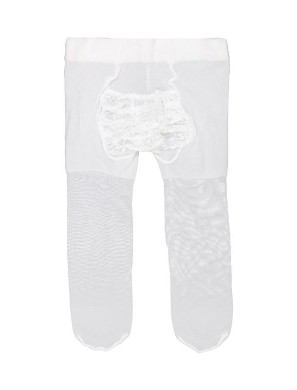 جوراب شلواری ساده نوزادی دخترانه - ایدکس