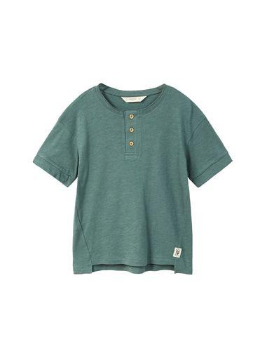 تی شرت نخی یقه گرد پسرانه