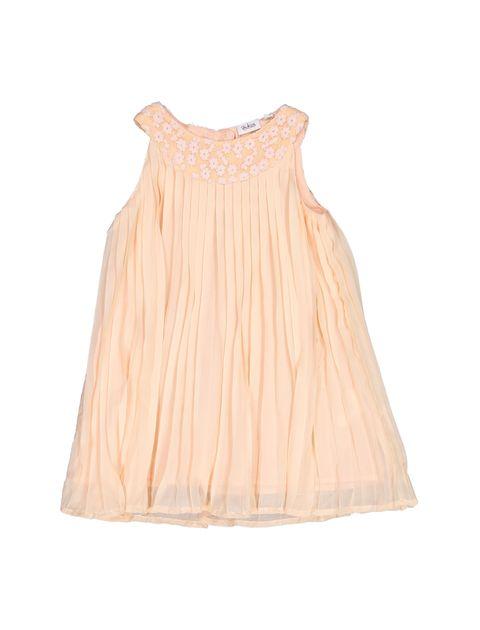 پیراهن روزمره دخترانه - بلوکیدز - گلبهي - 1