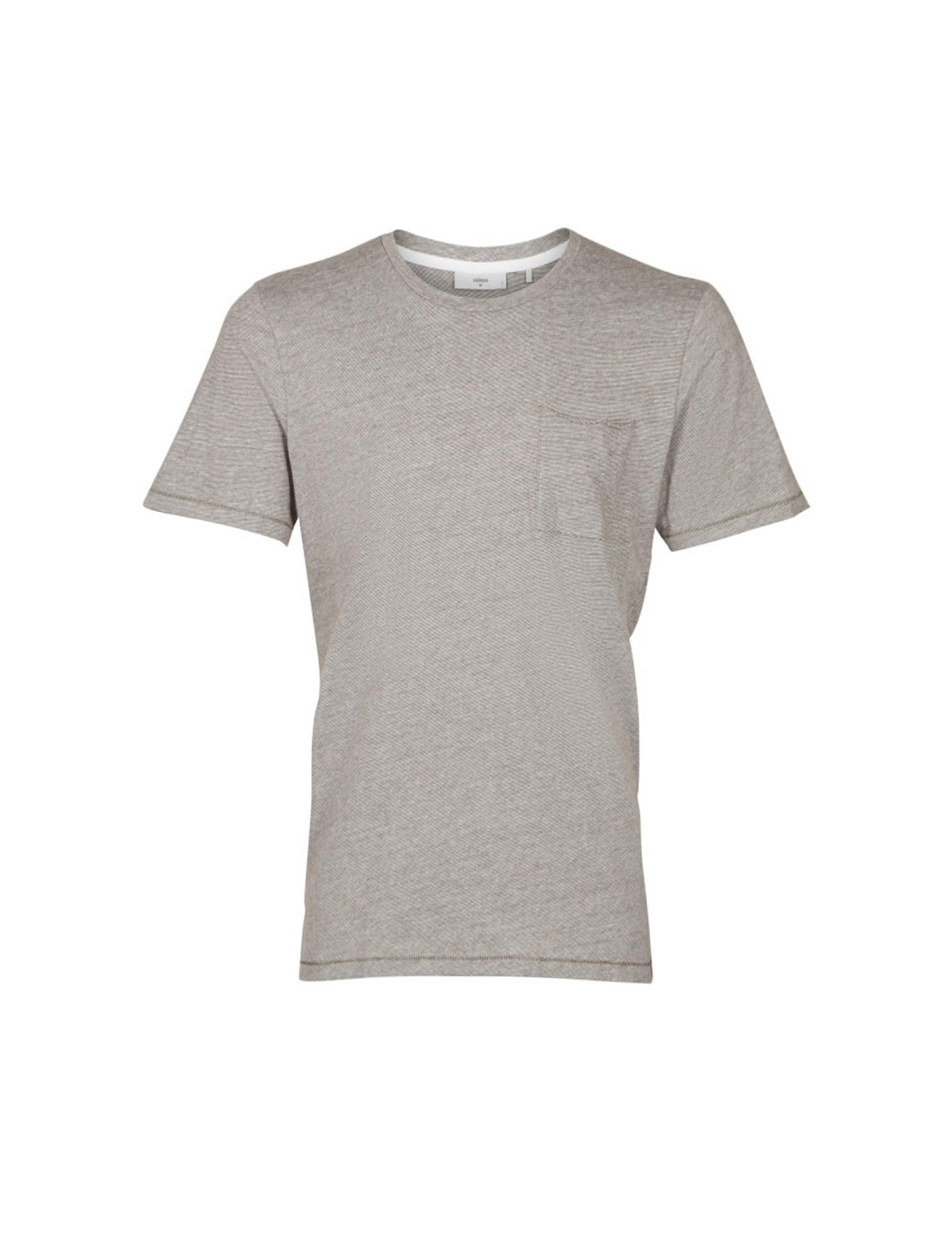 تی شرت نخی یقه گرد مردانه Nowa - مینیموم