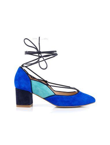 کفش پاشنه بلند جیر زنانه DADYLA - ملو یلو