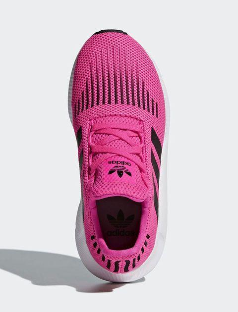 کفش دویدن بندی دخترانه Swift - سرخابي - 2