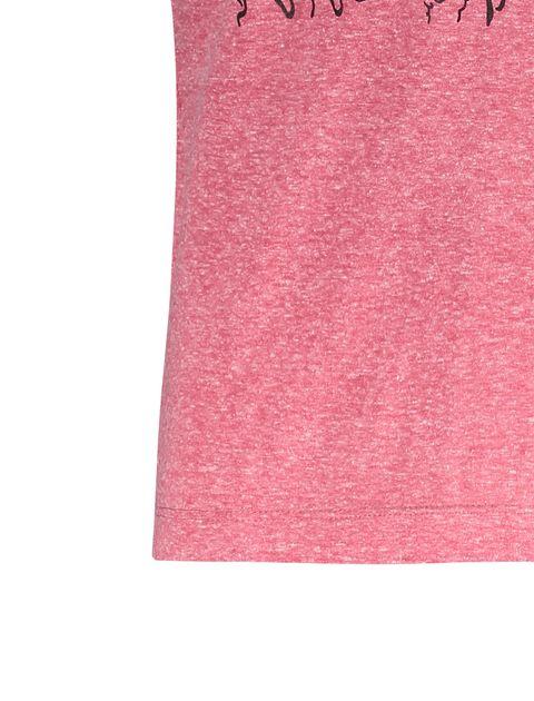 تی شرت یقه گرد مردانه - متی - صورتي - 4