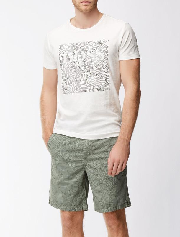 تی شرت نخی یقه گرد مردانه Tarit 1