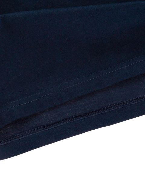 تی شرت نخی یقه گرد مردانه - زی - سرمه اي - 8