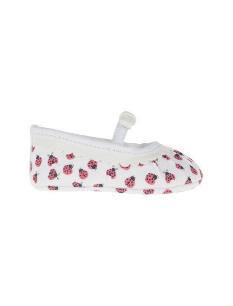 کفش نوزادی دخترانه - سفيد - 1