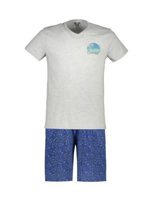 تصویر تی شرت و شلوارک راحتی مردانه – یوپیم