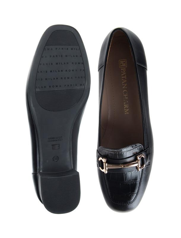 کفش پاشنه بلند زنانه - پاتن چرم