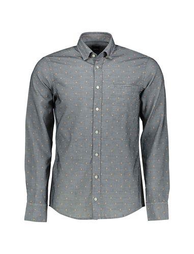 پیراهن نخی آستین بلند مردانه  Classy_1