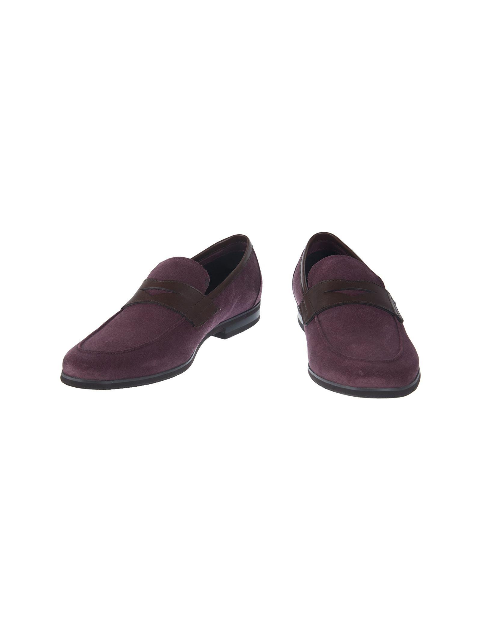 کفش چرم راحتی مردانه - بالدی - زرشکي - 2